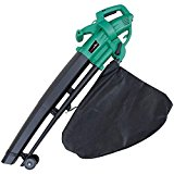 2600W Electric Garden Leaf Vacuum, Blower & Mulcher (shredder)- Adjustable Speed, 35L Collection Bag