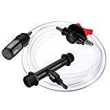 Bluelover 1/2 Inch Irrigation Venturi Fertilizer Kit Mixer Injectors Tube Switch Filter