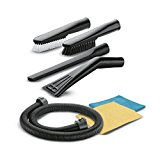 Kärcher Interior Car Cleaning Kit - DIY Multi-Purpose Vaccum Cleaner Accessory