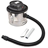 Wellco CV100 CV100 15-Litre Ash Vacuum Cleaner High-Filtration dry vacuum and blower Capacity: 15-Litres Voltage: 220V-240V 50Hz (Volts) 1000 watts Lightweight design - Silver/Black