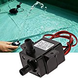 Bluelover 12V 3.6W Mini DC Brushless Garden Fountain Pump Hydrological Cycle Submersible Water Pump