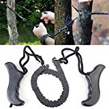 Bluelover Garden Steel Alloy Trimming Saw Outdoor Portable Hand Chain Saw