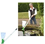 Tornado Pond Vacuum Pond Cleaner Pack Includes Pond Net- Pondvac (487)-Keep your pond crystal clean.