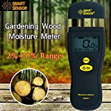 Bluelover SMART 2 Pin Digital Wood Moisture Meter Gardening Timber Building Material Humidity Tester