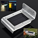 Bluelover Garden Solar Power Infrared Sensor 16 White LED Lamp Outdoor Courtyard Lawn Wall Light
