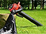 PETROL Garden Leaf Blower & Vacuum - Powerful 25cc Engine