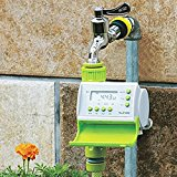 Bluelover Gardening Automatic LCD Watering Timer Smart Solenoid Valve Irrigation Controller