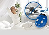 Bed Bug and Dust Mite Killer Repeller - Ultrasonic Wave Technology- Chemical & Allergy Free Solution ... (White)