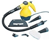 TOOL-GENIUS® 1050W HANDHELD PORTABLE POWER STEAM CLEANER COMPACT STEAMER MACHINE CARPET CAR