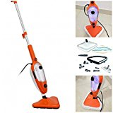 Garden Mile® 15 IN 1 Professional Steam Cleaner 1500W Multi-Function Carpet Cleaner Steam Mop With Accessories Lightweight Floor Cleaner Steam Clean Laminate Floor Cleaner, Hard-wood Floors ,Windows,Soft Furnishings And Cars