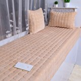 New day-Flannel floating window mats plush windowsill mats mattress cushions sofa cushions blankets , 40*120cm