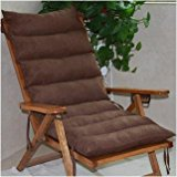 New day-Recliner cushion thicker rocking chair cushion nap chair cushion plush cushion , 135x50x8cm (not included) , a